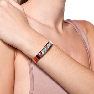 San Clemente | 18k Rose Gold | Boho Bangle