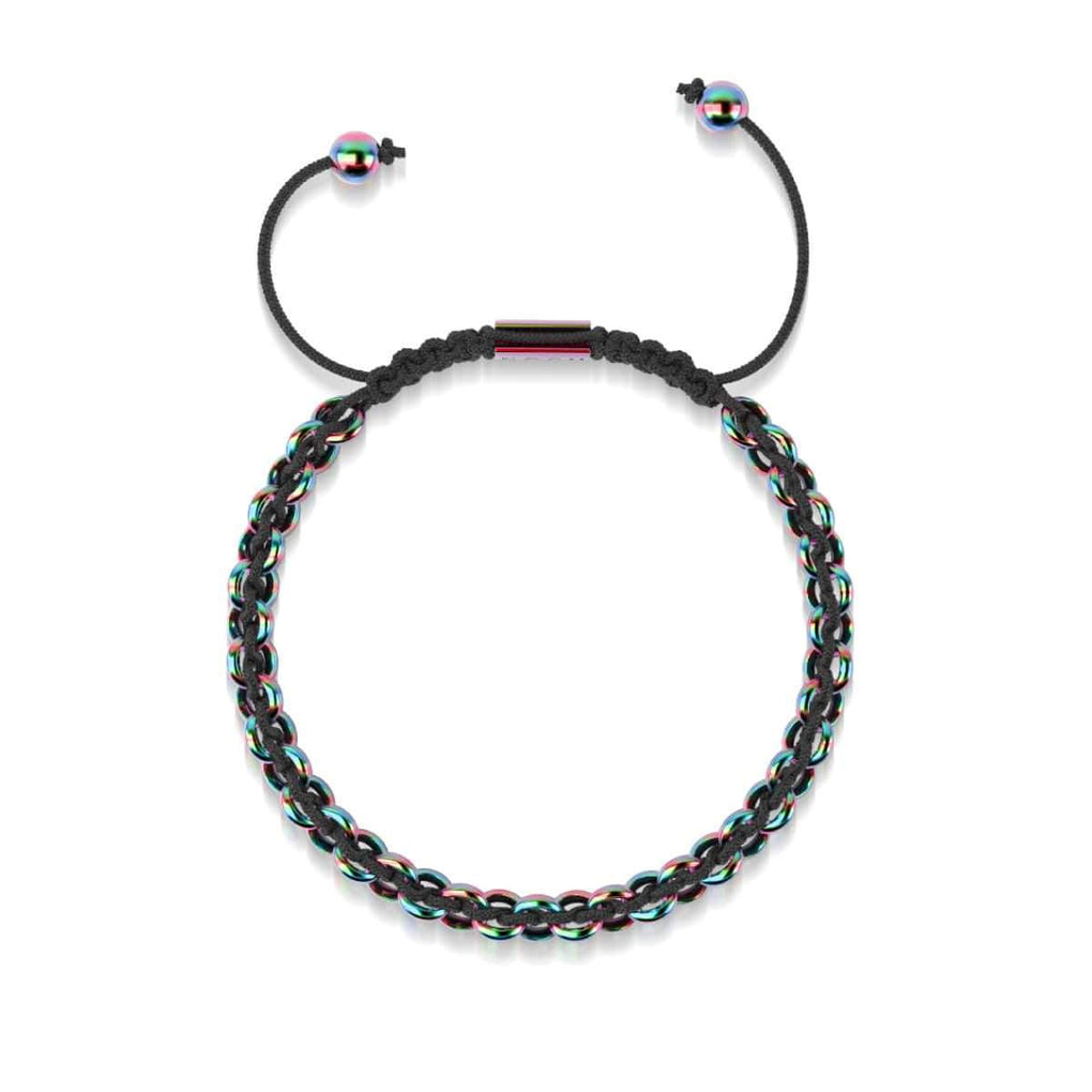 Supreme Kismet Links Bracelet | Unicorn Silver | Black