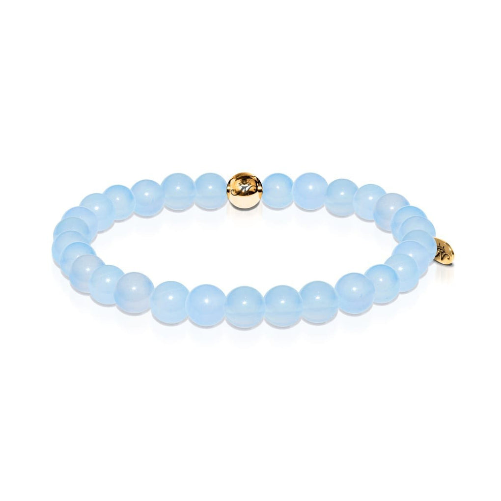 Purity | Gold Essence Aquamarine Bracelet