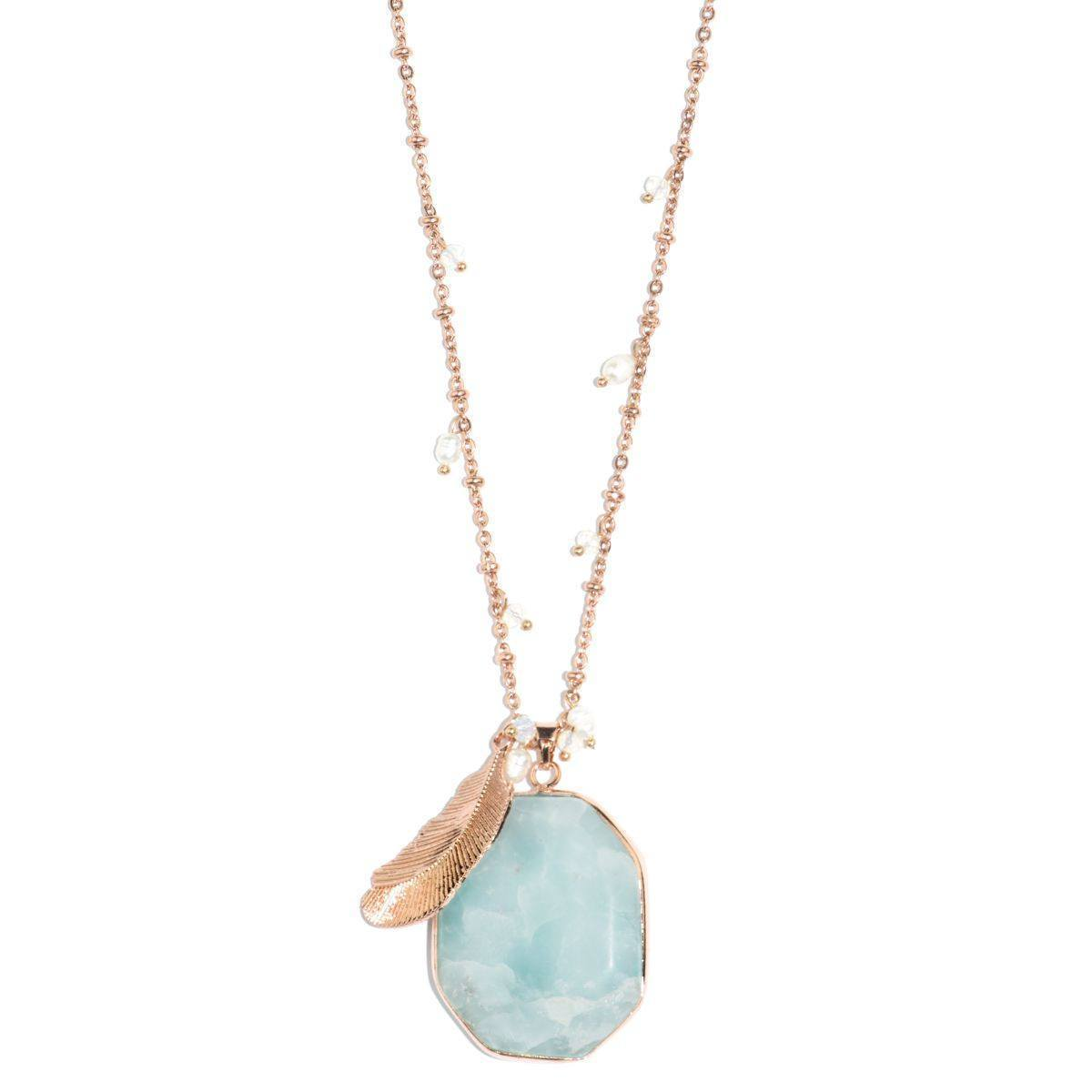 Cloud Nine Blue Cuprite Necklace