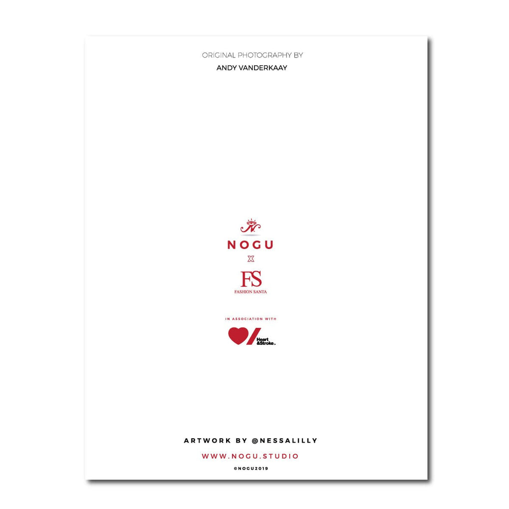 NOGU x Fashion Santa Holiday Card 3