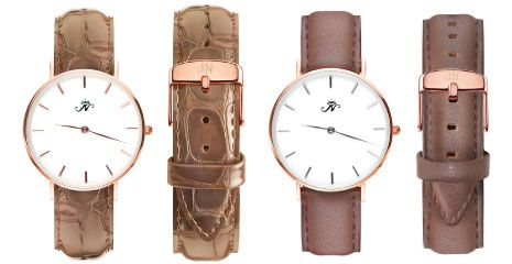GOLD AND SILVER DESIGNER TIMEPIECES