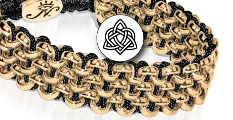 KISMET LINKS WOVEN LINKS CHAIN BRACELETS