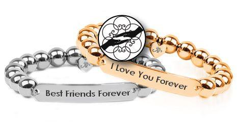 KINDRED SPIRITS METAL RELATIONSHIP BRACELETS