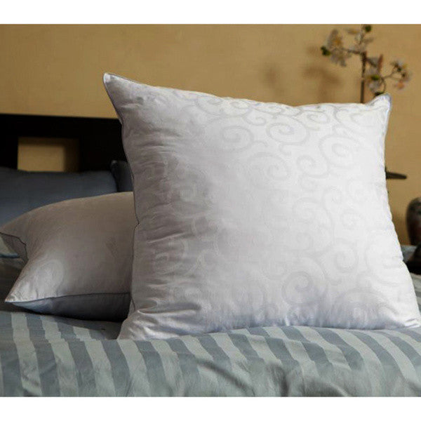 DownLinens 300 Thread Count Down Alternative European 28-inch Square Pillows (Set of 2)