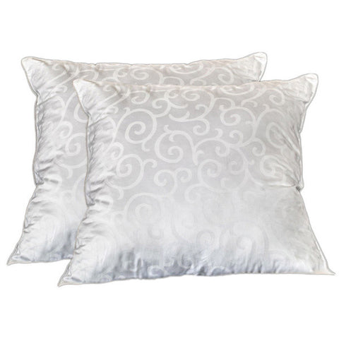 300 Thread Count European Square Pillows (Set of 2)