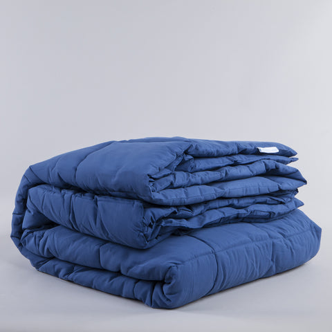 Nautical Blue Peachy Down Alternative Comforter