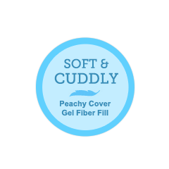 Satin Border Peachy Blanket HOV