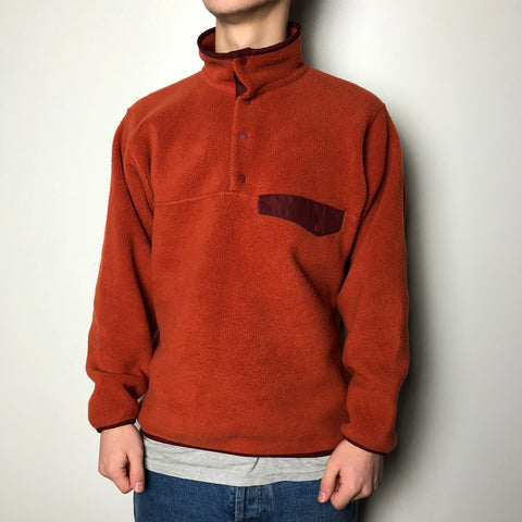 Men's Casual Vintage Collar Polar Fleece Sweatshirt