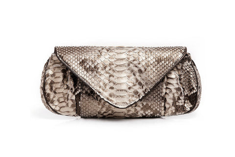 BACK CUT CANELA CLUTCH - Natureba