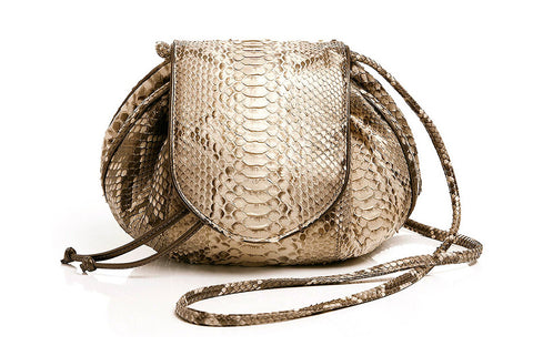 BACK CUT LEBLON SHOULDER BAG - Ouro