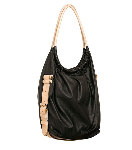 COPACABANA SAK in KID LEATHER - Supernova Black
