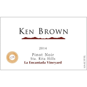 Ken Brown 2014 La Encantada Vineyard Pinot Noir