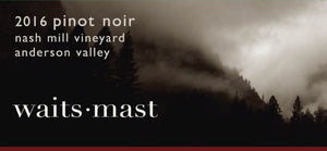 Waits-Mast Nash Mill Vineyard Pinot Noir 2016