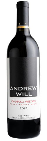 Andrew WIll Champoux Vineyard Red Wine 2015