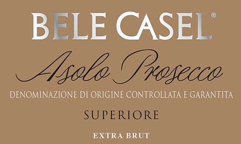 Bele Casel Extra Brut Asolo Prosecco