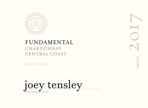 Tensley 2017 Fundamental Chardonnay