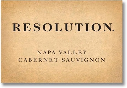 Branham 2018 Resolution Cabernet Sauvignon