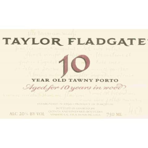 Taylor Fladgate 10 Year Old Tawny Port