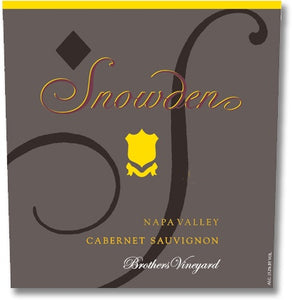 Snowden Vineyards 2016 Brothers Vineyard Cabernet Sauvignon