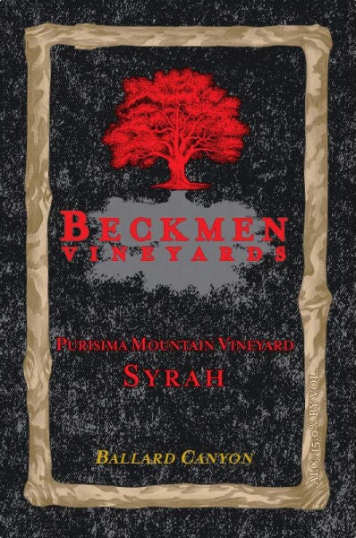Beckmen Vineyards Purisima Mountain Vineyard Syrah 2018