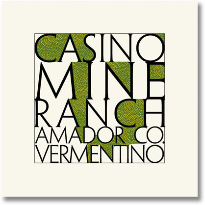 Casino Mine Ranch 2016 Vermentino