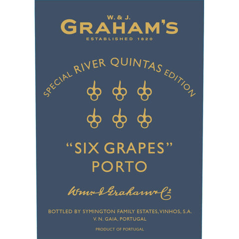 Graham's Six Grapes River Quintas Reserve Port