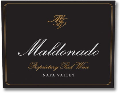 Maldonado 2016 Proprietary Red Wine