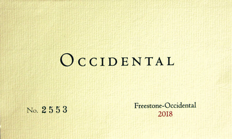 Occidental 2018 Freestone-Occidental Pinot Noir