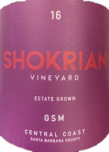 Shokrian Vineyard GSM 2016