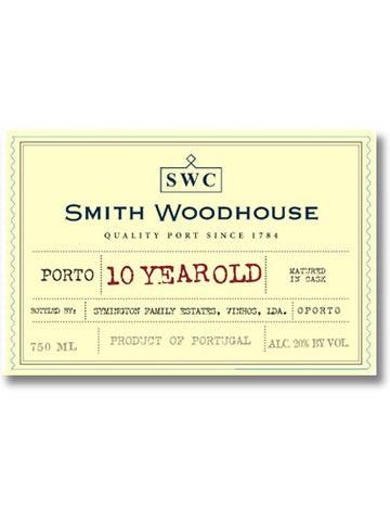 Smith Woodhouse 10 Year Tawny Port
