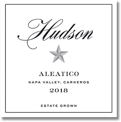 Hudson Ranch 2018 Aleatico