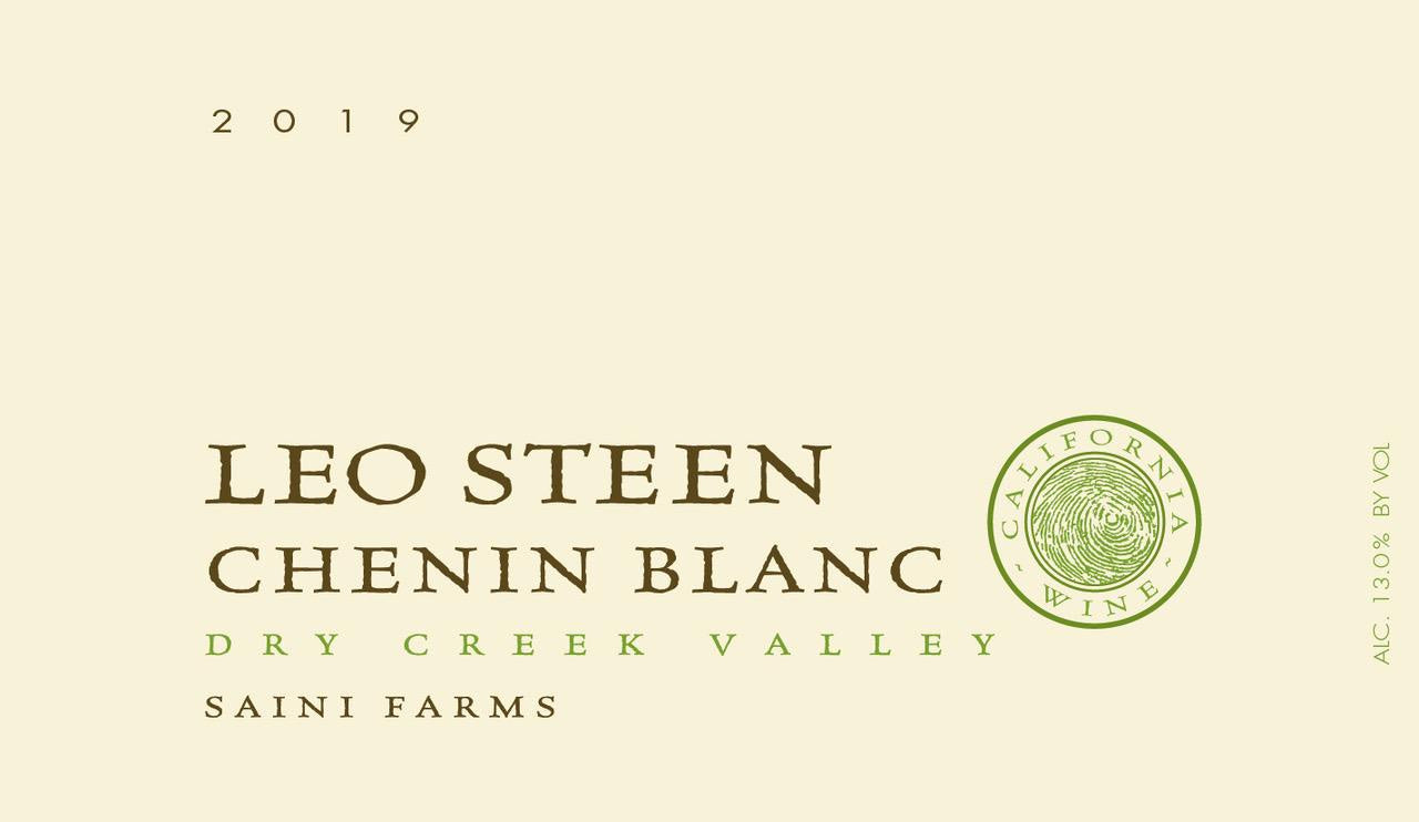 Leo Steen Saini Farms Chenin Blanc 2019