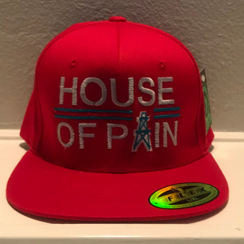 HOUSE OF PAIN RED SNAPBACK