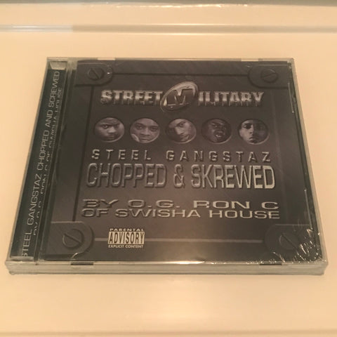 "STREET MILITARY ""STEEL GANGSTAZ"" C/S"
