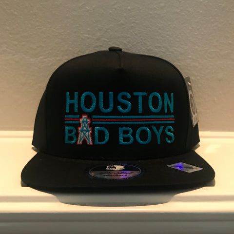 HOUSTON BAD BOYS BLACK SNAPBACK