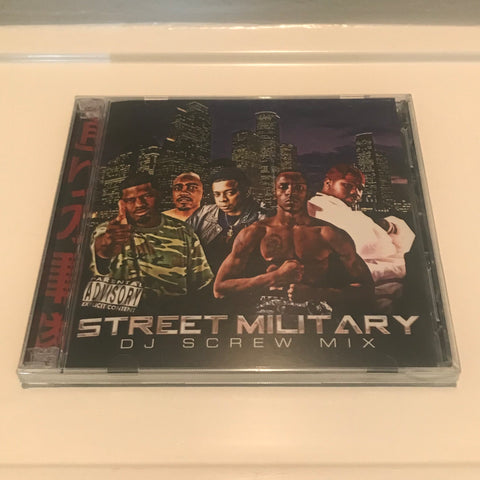 "STREET MILITARY ""D J SCREW MIX"""