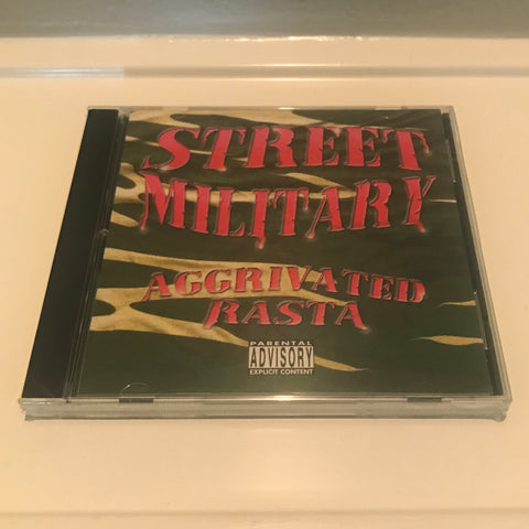 "STREET MILITARY ""AGGRIVATED RASTA"""