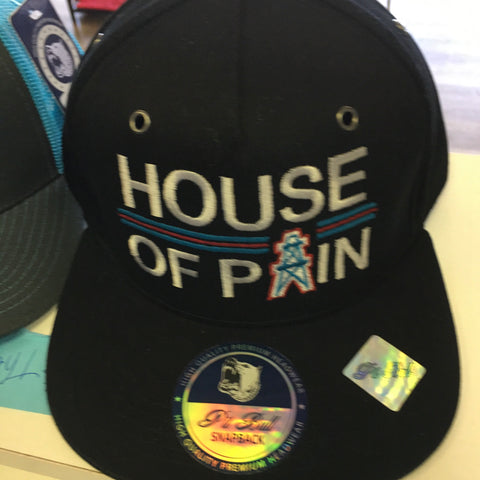 HOUSE OF PAIN BLACK SNAPBACK