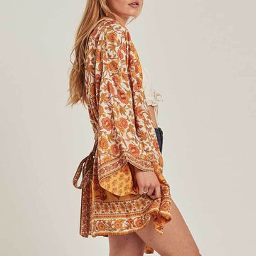 Come With Me Floral Dress