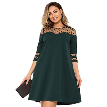 Take Charge Plus Size Dress