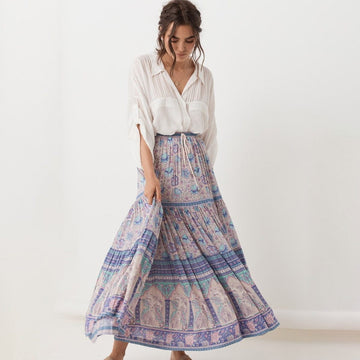 Sunday Fun Boho Maxi Set