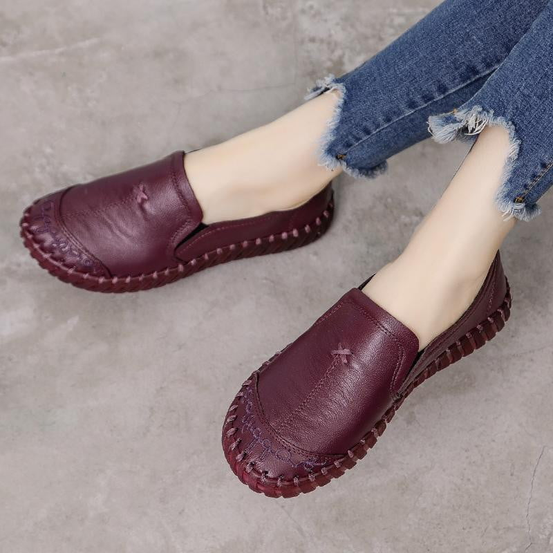 On Call Leather Loafers