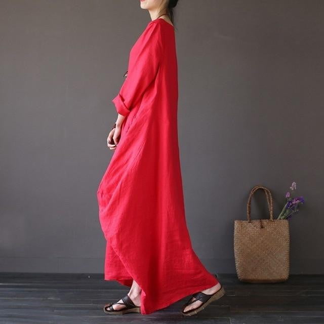 Different Feelings Maxi Dress