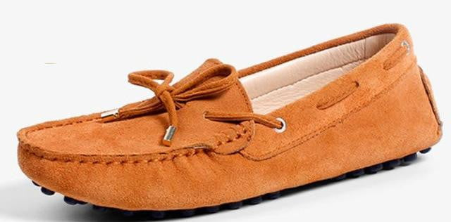 Bold Move Suede Loafers