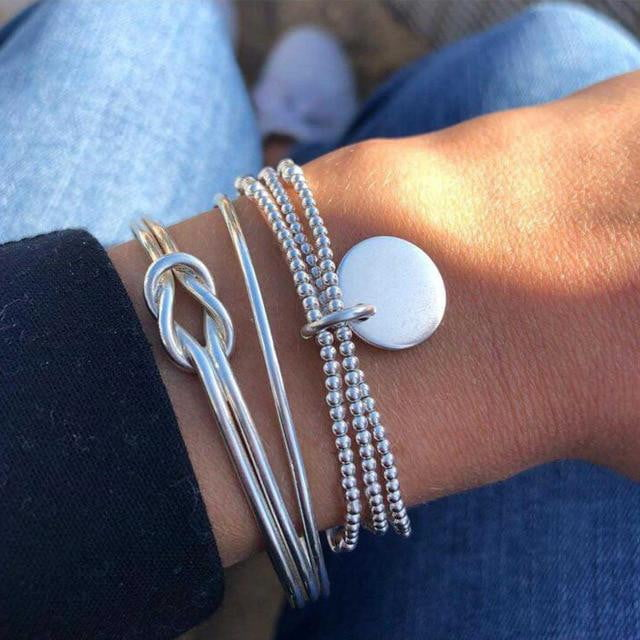 Turtle Heart Bracelet Set