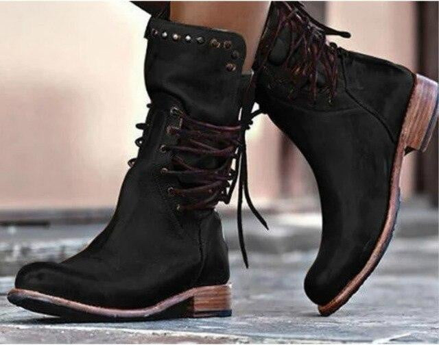 Breaking Ground Lace-Up Boots