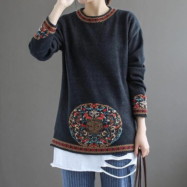Sink In Knitted Sweater