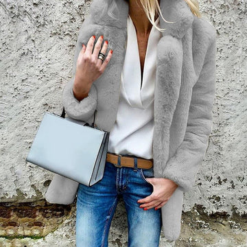 The Classic Faux Fur Coat