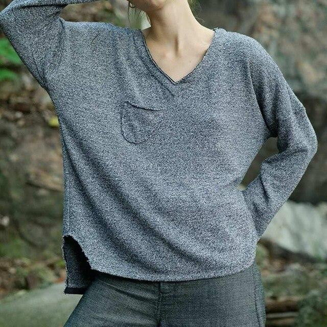 Lets Cuddle Knit Blouse
